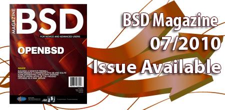 BSD Magazine за июль 2010