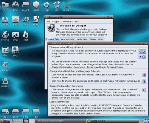 Puppy Linux 5.1